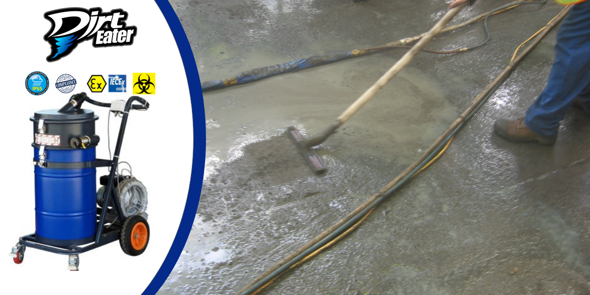 Vacuuming Solutions for Large Quantities of Concrete Slurry