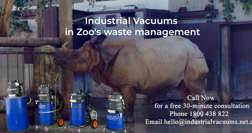 Industrial-Vacuums-in-Zoo's-waste-management